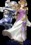 Zelda and Shiek (SSBEL)