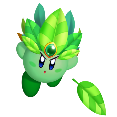 File:Leaf Kirby3D.png