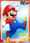 SMW3D MarioTradingCard