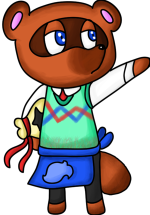 Tom Nook-Woodland Wonders