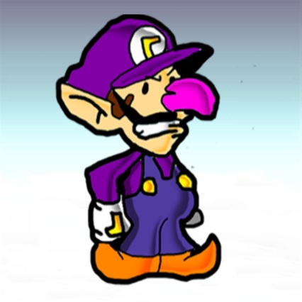File:Paper Waluigi (Paper Smash Bros).jpg