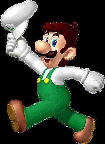 File:Fire Luigi SM3DW.png