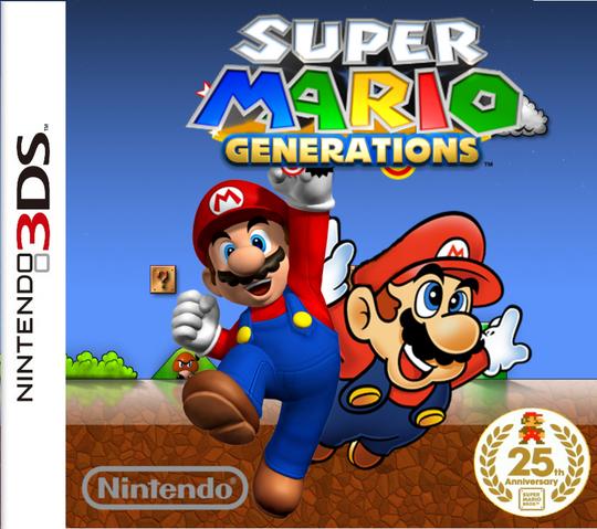 File:Super mario generations by marcllorca101-d4au9o6.png