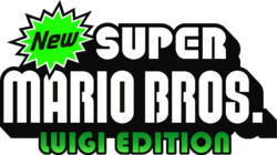 New Super Mario Bros. Luigi Edition Logo