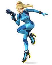 Zero Suit Samus Smash Bros