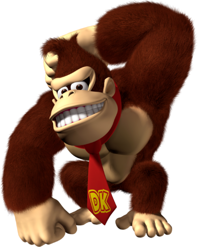 Donkey Kong Artwork (alt) - Mario Party 8