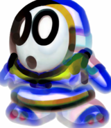 Giant Paint Shy Guy