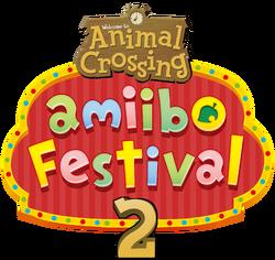 Animal Crossing amiibo Festival 2 logo