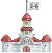 Peachs Castle SM3DL3