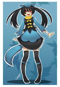 Pokemon riolu gijinka by sanzuri-d66h19u