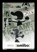 Amiibo - SSB - Mr. Game & Watch - Box