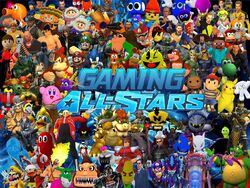Gaming all stars release by supersmashbrosgmod-d649k78