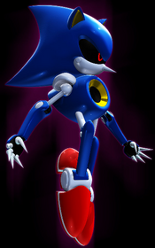 Metalsonic by sefirothdb on deviantart