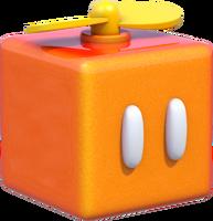 Propeller Box Artwork - Super Mario 3D World