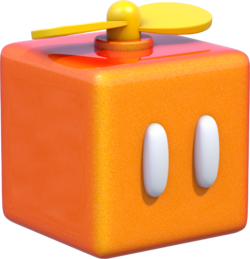 Propeller Box Artwork - Super Mario 3D World