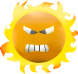 Angry SunSMWWii