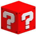 Red Question Block by Lumogo
