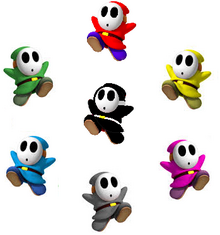 Shy Guy Colors
