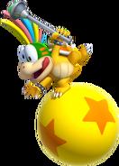 Lemmy Koopa Artwork - New Super Mario Bros. Opal