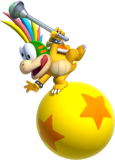 Lemmy Koopa Artwork - New Super Mario Bros. Opal
