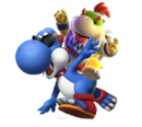 Bowser Jr. riding Boshi