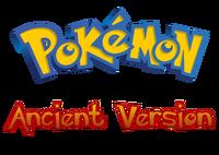 Pokemon Ancient Version Logo