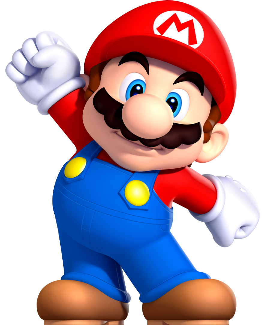 It's just a graphic of Gutsy Mario Brothers Images