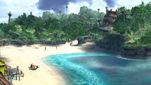 FFX HD Besaid Beach