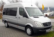 Mercedes-Benz Sprinter front 20081206