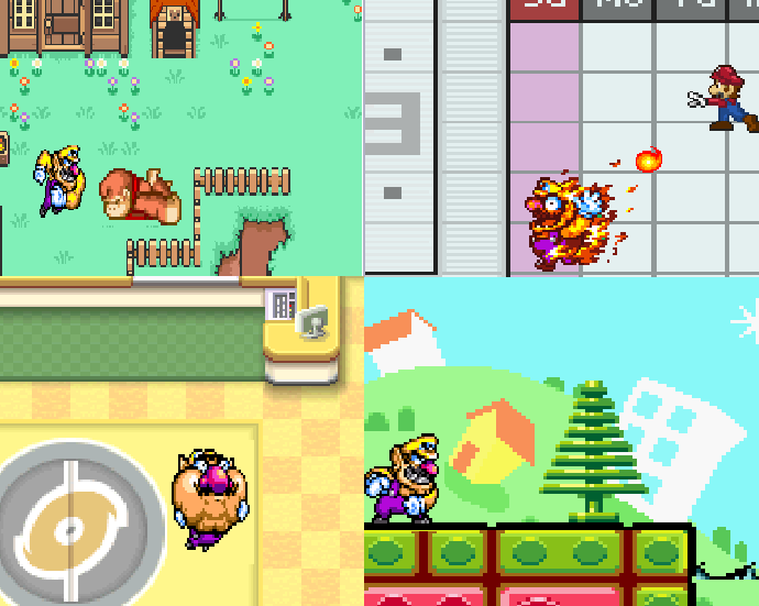 SSBB Wario pictures