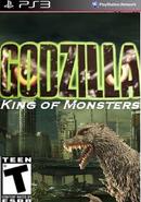 Godzilla PS3 Cover