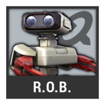 ACL -- Super Smash Bros. Switch character box - R.O.B.