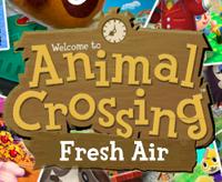 Animal Crossing Fresh Air Logo