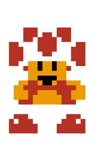 Toad pixel