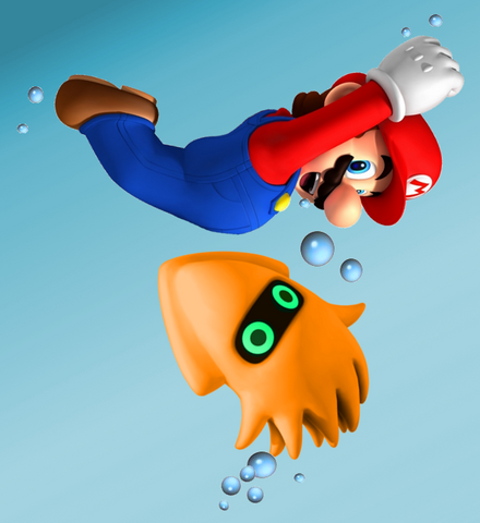 File:Swimming Mario and Bloop.png