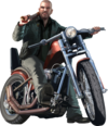 Gta iv johnny klebitz render