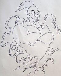 Jafar the genie