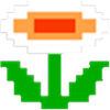 Retro Fire Flower