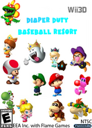 Diaper Duty Baseball Resort Wii3D BETA NTSC