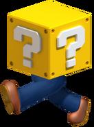 Luigi Coin Block SM3DW