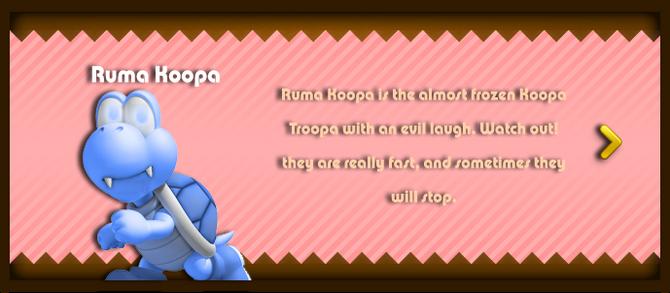 Super Mario & the Ludu Tree - Character Ruma Koopa