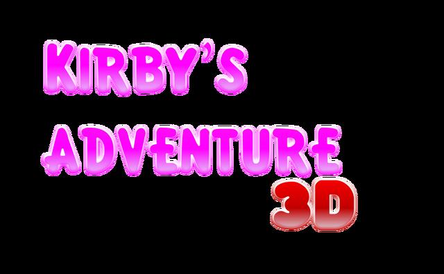 File:Kirby'sAdventure3DLogo.png