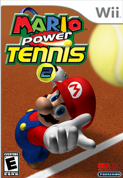 Mario Power Tennis 2 Boxart