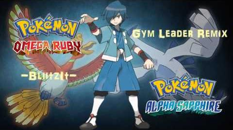 Pokemon Omega Ruby & Alpha Sapphire ORAS Johto Gym Leader Battle Remix