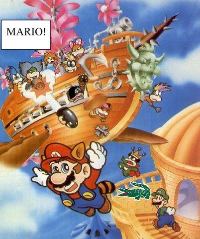 File:Mario and lacoste alligator.jpg