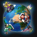 MarioKartDS around the world