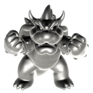 Smbz metal bowser render by nibroc rock-d9n9r97