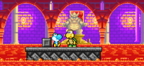 Usura yoshi as baby in the hands of the koopa's