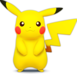 502px-Pikachu - Super Smash Bros.