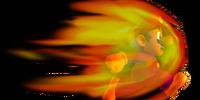 Burning Mario
